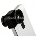 Объектив для iPhone 5 / 5S Photo lens 3-in-one 2x angle, цвет объектива черный