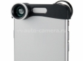 Объектив для iPhone 6 Photo Lens 3 in 1, цвет Silver (PHO-FWM-6)