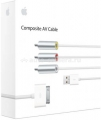 Оригинальный кабель для iPhone/iPad Apple Composite AV Cable-ZML (MC748ZM/A)
