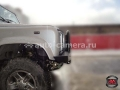 Передний силовой бампер RusArmorGroup для для Land Rover Defender 90-110