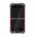 Противоударный чехол для iPhone 5 / 5S Ballistic Shell Gel (SG) Series, цвет charcoal/raspberry (SG0926-M115)