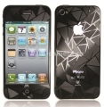 Защитная пленка для экрана iPhone 4/4S iCover Screen Protector Triangle (IP4-SP-TR)