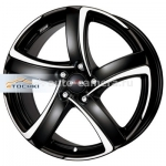 Диски Alutec 7,5x17 5x108 ET47 D70,1 Shark Racing black front polished