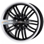 Диски Alutec 8,5x18 5x108 ET40 D70,1 BlackSun Racing Black Lip Polished