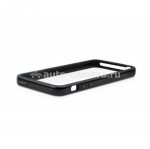 Чехол Бампер для iPhone 5 / 5S Macally Protective Frame Case, цвет Black (RIMB-P5)