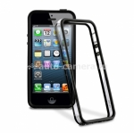 Чехол Бампер для iPhone 5 / 5S PURO Bumper Covers, цвет black (IPC5BUMPER1)