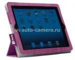 Чехол для iPad 3 и iPad 4 Booq Folio, цвет purple (FLI3-PPL)