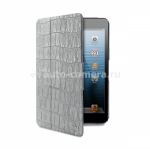 Чехол для iPad mini PURO Safari Crocodile Cases, цвет grey (MINIIPADCROCOGREY)