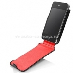 Чехол для iPhone 4 и iPhone 4S Capdase Capparel Case, цвет черный (CPIH4-1019)