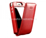 Чехол для iPhone 4 и iPhone 4S Sena Hampton Flip Case, цвет red (159306)