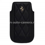 Чехол для iPhone 4/4S Ferrari Sleeve Maranello, цвет Black (FEMAIPBL)