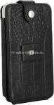 Чехол для iPhone 4/4S Sena WalletSkin Case, цвет black croco (163116)