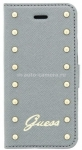 Чехол для iPhone 6 Plus Guess Studded Booktype, цвет Silver (GUFLBKP6LSAS)