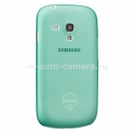 Чехол для Samsung Galaxy S3 mini (i8190) Ozaki O!Coat-0.4Jelly, цвет cyan