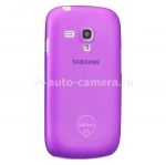 Чехол для Samsung Galaxy S3 mini (i8190) Ozaki O!Coat-0.4Jelly, цвет purple