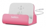 Док-станции Док-станция для iPhone 5 / 5S Belkin Charge + Sync Dock, цвет pink (F8J045btPNK)