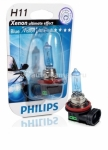 Галогенная лампа Philips H11 12v 55w Blue Vision Ultra 12362BVUB1 1 шт.