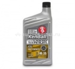 Моторное масло Kendall 5W-30 GT-1 Full Synthetic with Liquid Titanium 1057127-05, 0.946л