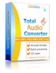Аудио конвертеры Конвертер аудио файлов Total Audio Converter