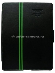 Кожаный чехол для iPad 3 и iPad 4 Aston Martin Racing back, цвет black (BKIPA2001A)