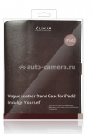 Кожаный чехол для iPad 3 и iPad 4 LUXA2 Metis Leather Stand Case, цвет brown (LHA0035-A)