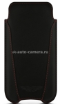 Кожаный чехол для iPhone 5 / 5S BeyzaCases Aston Martin Slim V, цвет black (AM23431)