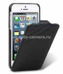 Кожаный чехол для iPhone 5 / 5S Melkco Craft Limited Edition (Prime Dotta), цвет black