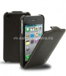 Кожаный чехол для iPhone 5 / 5S Melkco Premium Leather Case - Jacka Type, цвет Brown LC