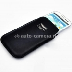 Кожаный чехол для Samsung Galaxy S3 (i9300) Aston Martin Racing Chic Case, цвет Black (CCSAM93001A)