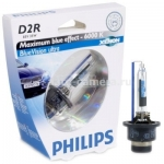 Лампа ксенон D2R Philips 85V-35W (P32d-3) BlueVision ultra