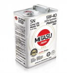 Моторное масло Mitasu 5W-40 Motor Oil MJ-112-4, 4л