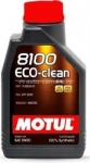 Моторное масло Motul 5W-30 8100 Eco-clean 101543, 1л