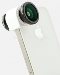 объективы Объектив для iPhone 5 / 5S Olloclip 4 in 1, цвет silver (OCEU-IPH5-FW2M-SW)