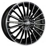 Диски OZ 7x17 4x100 ET37 D68 35 Anniversary Black + Diamond Cut