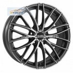 Диски OZ 8x18 5x108 ET45 D75 Italia 150 Matt Dark Graphite