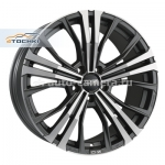 Диски OZ 9x19 5x112 ET30 D79 Cortina Matt Dark Graphite D.C.