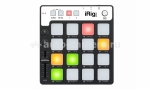 Для музыки Портативный MIDI контроллер для iPhone, iPad, iPod touch и PC. IK Multimedia iRig Pads