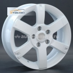 Диски Replay 6,5x16 5x114,3 ET40 D66,1 NS29 White (Nissan)