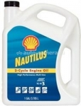 Моторное масло Shell Nautilus 2- CYCLE ENGINE OIL HIGH PERFOMANCE MULTI-USE 021400742338, 3.785л