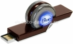 Для музыки USB-микрофон для Mac и PC Blue Microphones Tiki (TIKI)