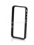 Бампер для iPhone 4 Bumper Clever Case, цвет черный