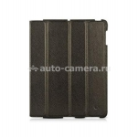Кожаный чехол для iPad 3 и iPad 4 BeyzaCases Executive Case, Black (BZ19915)