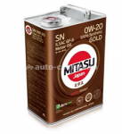 Mitasu 0W-40 GOLD MJ-104-4, 4л