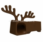 Подставка для iPhone 5 / 5S Ozaki O!music Zoo Deer A, цвет Brown (OM936DA)