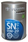 Масло Toyota 0W-20 SN 08880-10506, 1л