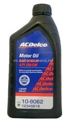 Масло AC Delco 10W-30 Motor Oil 10-9062, 0.946л
