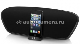 Акустическая система для iPad 4, iPad mini, iPhone 5, iPod touch 5 и iPod nano 7 JBL OnBeat Venue LT, цвет Black (ONBEATVENLTBLKE)