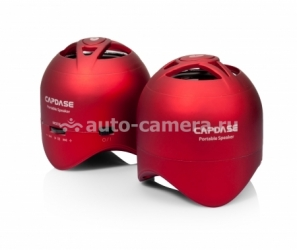 Акустическая система для iPad, iPhone, Samsung и HTC Capdase Portable Speaker Mini Beat Stereo, цвет red (SK00-MS09)