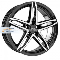 Диск Alutec 6x16 4x108 ET25 D65,1 Poison Diamant black front polished