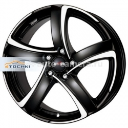 Диск Alutec 7,5x17 5x100 ET35 D63,3 Shark Racing black front polished